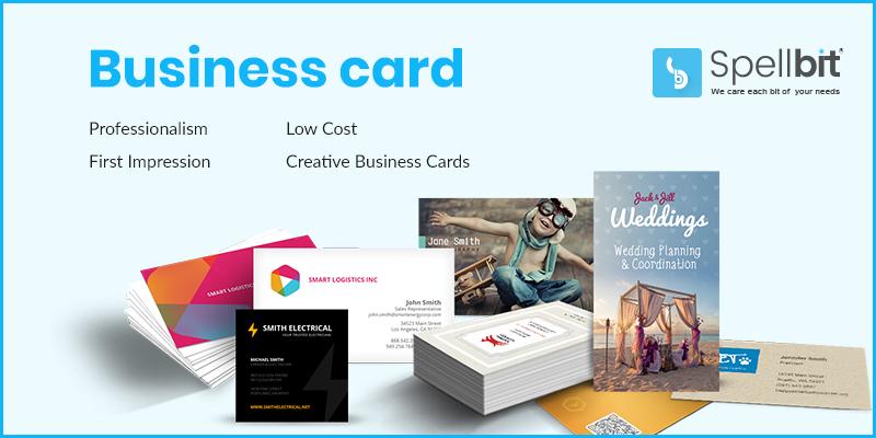 Business Card design from Spellbit